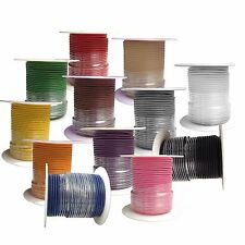 18 Gauge Primary Wire : Copper Stranded : 12-100 Foot Rolls : CHOOSE YOUR COLORS
