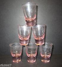 20 Amber shot glasses 25ml (glass)