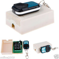 315MHz DC12V 4CH Channel Wireless RF Remote Control Switch Transmitter+ Receiver