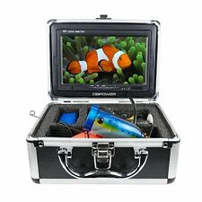 """30m 7"""" Color LCD Underwater Video Fishing Camera With 600TV Lines Fishing Camera"""