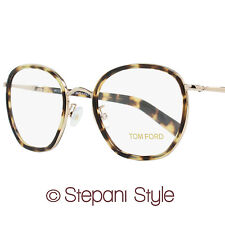 Tom Ford Square Eyeglasses TF5339 056 Size: 51mm Rose Gold/Tortoise 5339