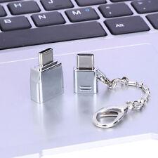 Micro USB 2.0 hembra a USB 3.1 Tipo C macho Convertidor Adaptador USB-C OTG