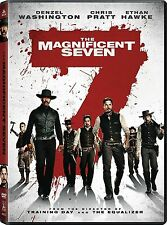 NEW -The Magnificent Seven DVD 2016 Action Adventure SEALED SHIPS TODAY !