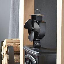 Wood Stove Eco Fan - Heat Powered Ultra Quiet Fireplace Blower Fan