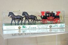 BRUMM HISTORICAL SERIES 018 ROYAL MAIL COACH CARRIAGE WAGON LONDON YORK 1827 na