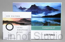 Lee Filters 100mm Holder Foundation Kit, 77mm Wide Angle Adapter Ring
