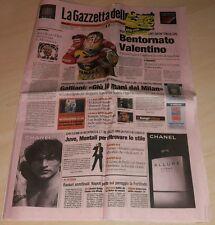 GAZZETTA DELLO SPORT 5 GIUGNO 2006 VALENTINO ROSSI MUGELLO CAPIROSSI