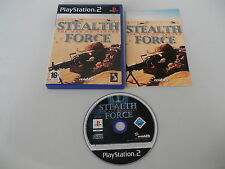Stealth Force the War on Terror (PAL) Playstation 2 PS2 PS3 Sony OVP CIB