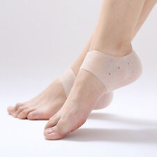 Silicone Moisturizing Gel Heel Socks Cracked Foot Skin Care Protectors 2Pcs