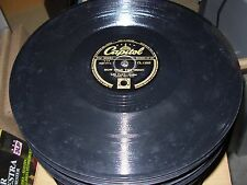 LES PAUL how high moon / what is thing called ( jazz ) 78 rpm capitol 13505 uk