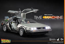 1/6 Scale Back to the Future DeLorean Collectible Vehicle by Hot Toys Used JC