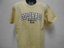 NEW Colorado Buffalos MENS Large (L) J. America Brand Yellow Shirt 35GC