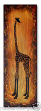 Metal Art Abstract Giraffe Contemporary Wall Sculpture by Brittney Hallowell