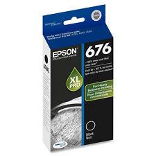 Genuine Epson 676 XL pro black ink for Workforce WP4010 WP4020 WP4023 WP4090