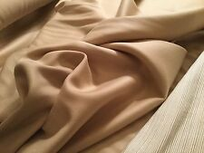 "ROGERS & GOFFIGON ""Béchamel"" 100% Creamy Wool Fabric Blonde Colorwy No.938001-01"