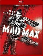 Mad Max (Blu-ray Disc, 2015, 35th Anniversary Edition) Mel Gibson **Blue Case**