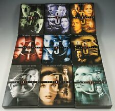 THE X-FILES: The COMPLETE TV SERIES ~ 1-9 DVD SET ~ LIKE NEW ~