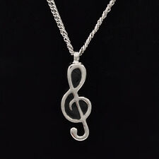 1Pc Musical Note Urn Cremation Pendant Necklace Ash Holder Keepsake Jewelry Mini