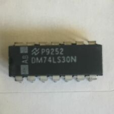 DM74LS30N 8-Input NAND Gate DIP14  National Semiconductor x 25 pieces