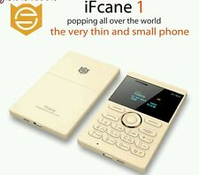IFcane E1: ( gold ) Mini Cell Card Mobile Phone Student Version GSM FM Bluetooth