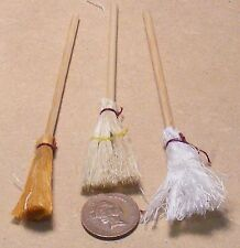1:12 Scale Mop & Broom Set Dolls House Miniature Kitchen Cleaning Accessory 851