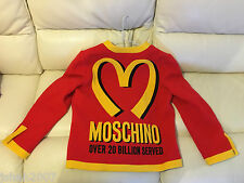 MOSCHINO MCDONALDS 20 BILLION SERVED LADIES JACKET SIZE MEDIUM M 12 44 NEW