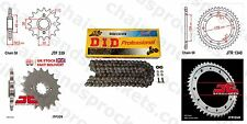 DID X Ring Chain Sprocket Kit 17/43t 530/108 fit Honda VFR800 F1-W,X  98-99