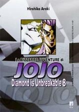 LE BIZZARRE AVVENTURE DI JOJO - DIAMOND IS UNBREAKABLE 8 DI 12 STAR COMICS NUOVO