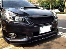 2013 Subaru LEGACY BR9 &BM9  STI STYLE  FRONT LIP SPOILER MATTE BLACK