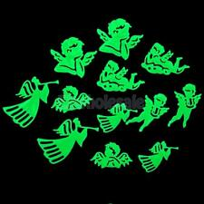 12 Glow In the Dark Angel Images Wing Stickers Decal for Wall Ceiling Kid Decor