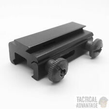 20mm Weaver - 11mm Dovetail QD Rail Base Mount Adapter Convertor Picatinny UK