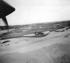 7x5 Gloss Photo ww760 Normandy D-Day Jb Juno Beach Vue Aerienne