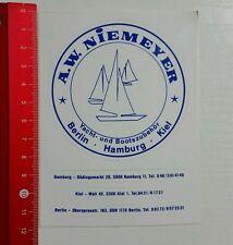 Pegatina/sticker: A.W. niemeyer Yacht y accesorios de arranque (230516187)