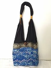 Thai Hobo Tote Bag Women Bag Charm Hmong Shoulder bag  Hippie Bohemian#8