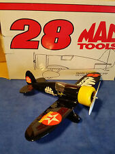 #28 DAVEY ALLISON MAC TOOLS TRAVEL AIR MYSTERY SHIP AIRPLANE BANK 1/32 SCALE