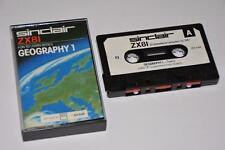 Sinclair ZX81 ~ Geography 1 by ICL ~ SCC