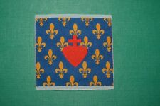N°4 écusson insigne tissu religieux Cœur de Jésus scoutisme pèlerinage Lys jaune
