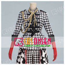 Cosonsen Kuroshitsuji Black Butler Ciel Fan Art Checker Dress Cosplay Costume
