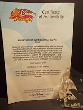 Disney Auctions LE Prototype Mickey Mouse Club Guest Star Day Pin (only 4 made)