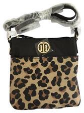 New $48 Tommy Hilfiger Small Crossbody Leopard Animal Print Purse Bag