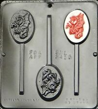Dragon Lollipop  Chocolate Candy Mold  3415 NEW