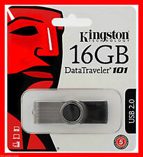 New 16GB Kingston USB Memory Stick G2 Pen Flash Drive DataTraveler First DEL