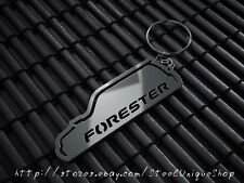 Subaru Forester Stainless Steel Keychain