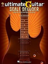 Ultimate Guitar Scale Decoder Essential Scales & Modes Learn to Play Music Book