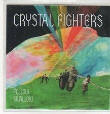 (CZ473) Crystal Fighters, Follow / Swallow - 2010 DJ CD