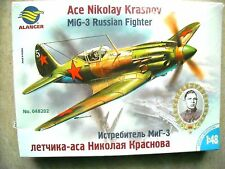Alanger 1/48 Ace Nikolay Krasnov MiG-3 Russian Fighter