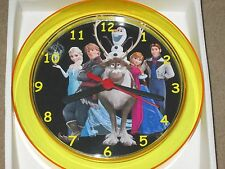 FROZEN Cast Novelty Wall Clock 7 Inch BRAND NEW **L@@K**