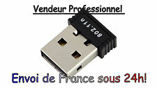 Clé Clef USB Dongle WiFi 150Mbits 802.11 mini adaptateur XP Vista Windows 7 et 8