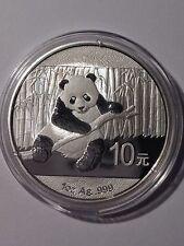 "2014 Chinese ""Panda"" 1oz .999 Fine Silver Coin | B/U"