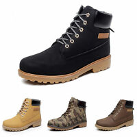 MENS GENTS WINTER WALKING HIKING TACTICAL HUNTING BOOTS TRAINERS WORK SHOES